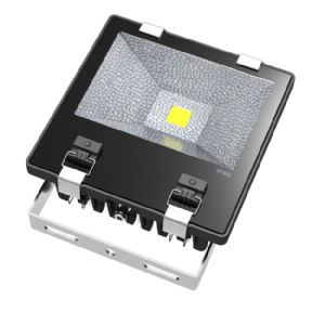 100W LED Floodlight | IP65 Waterproof | Extreme Weather Resistant | ASA Polymer Casing | Warm White